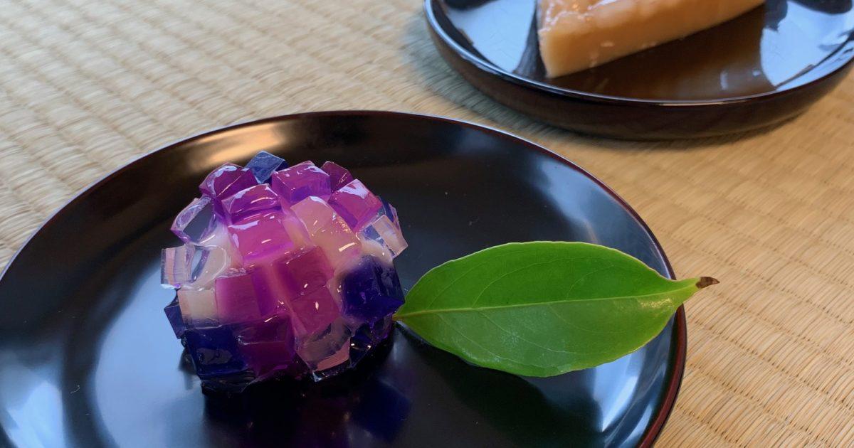 紫陽花・水無月