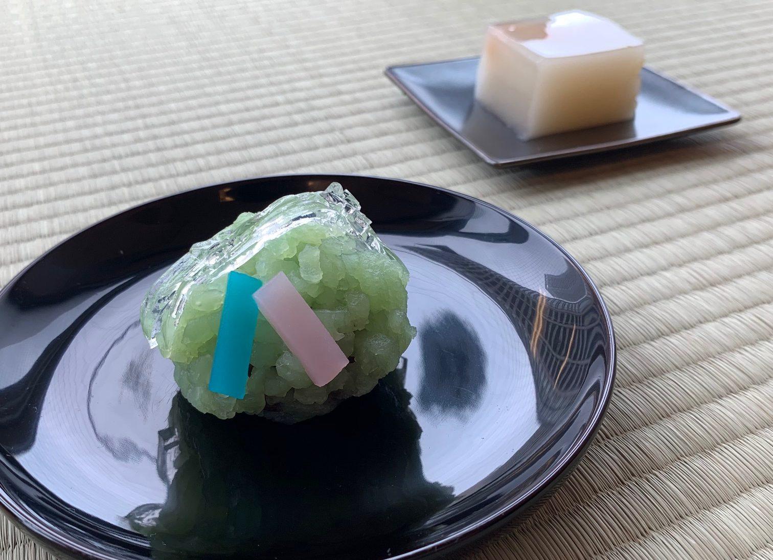 『願い笹』と『杏羹』